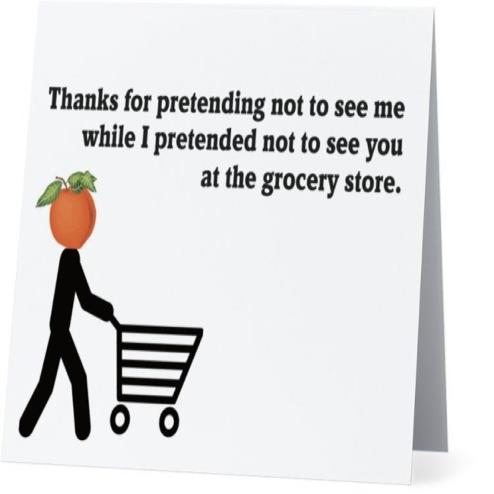 Bad Annie's Card #088 - Grocery Store