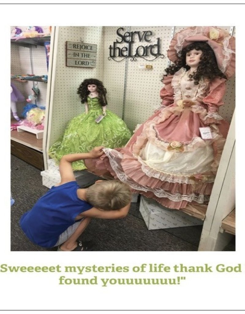 Annies Card #089 - Sweet Mysteries Of Life