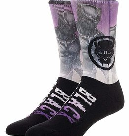 Mens Socks - Marvel Black Panther Purple