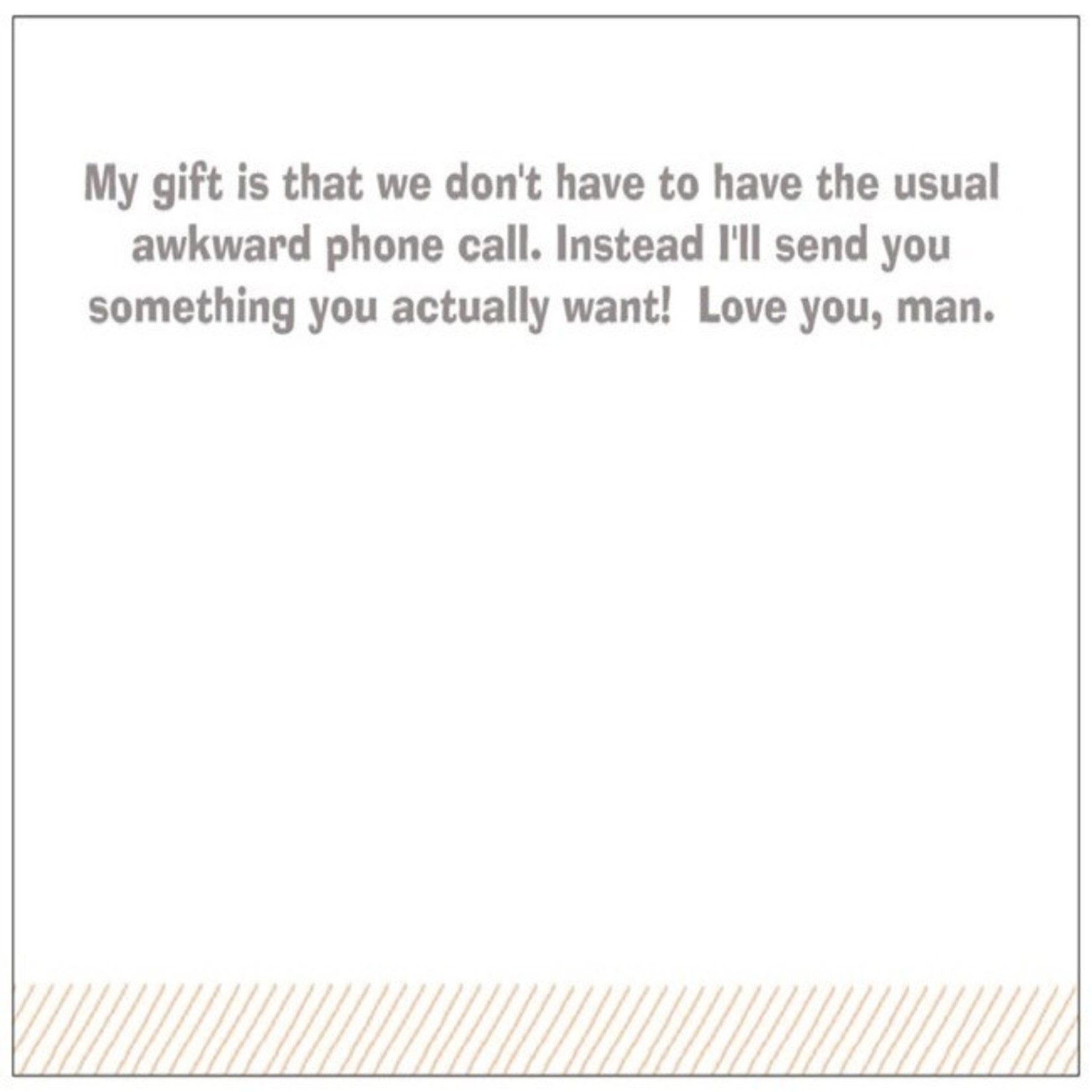 Bad Annie's Card #122 - Fathers Day