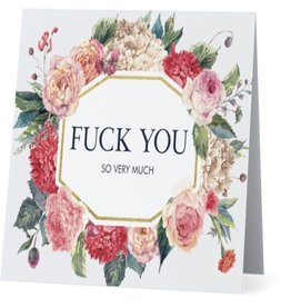 Card #125 - Fuck You So Very Much