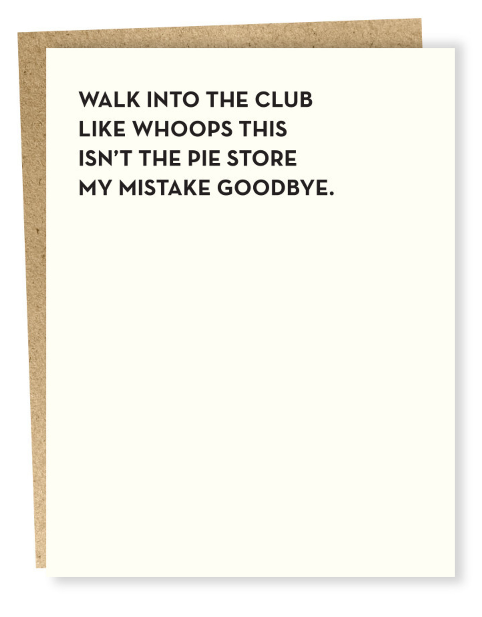 Card #124 - Moment Of Truth: The Club