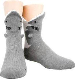 Socks (Mens) - 3D Great White Shark