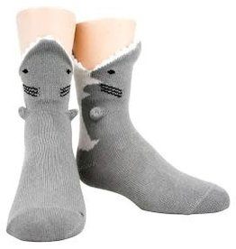 Socks (Mens) - 3D Great White Shark