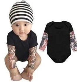 Bad Annie's Onesie - Tattoo Sleeve 0-6 months