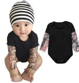 Onesie - Tattoo Sleeve (0 - 6 Months)