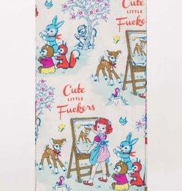Tea Towel (Premium) - Cute Little Fuckers