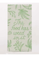 Dish Towel (Premium) - The Food Has Weed In It