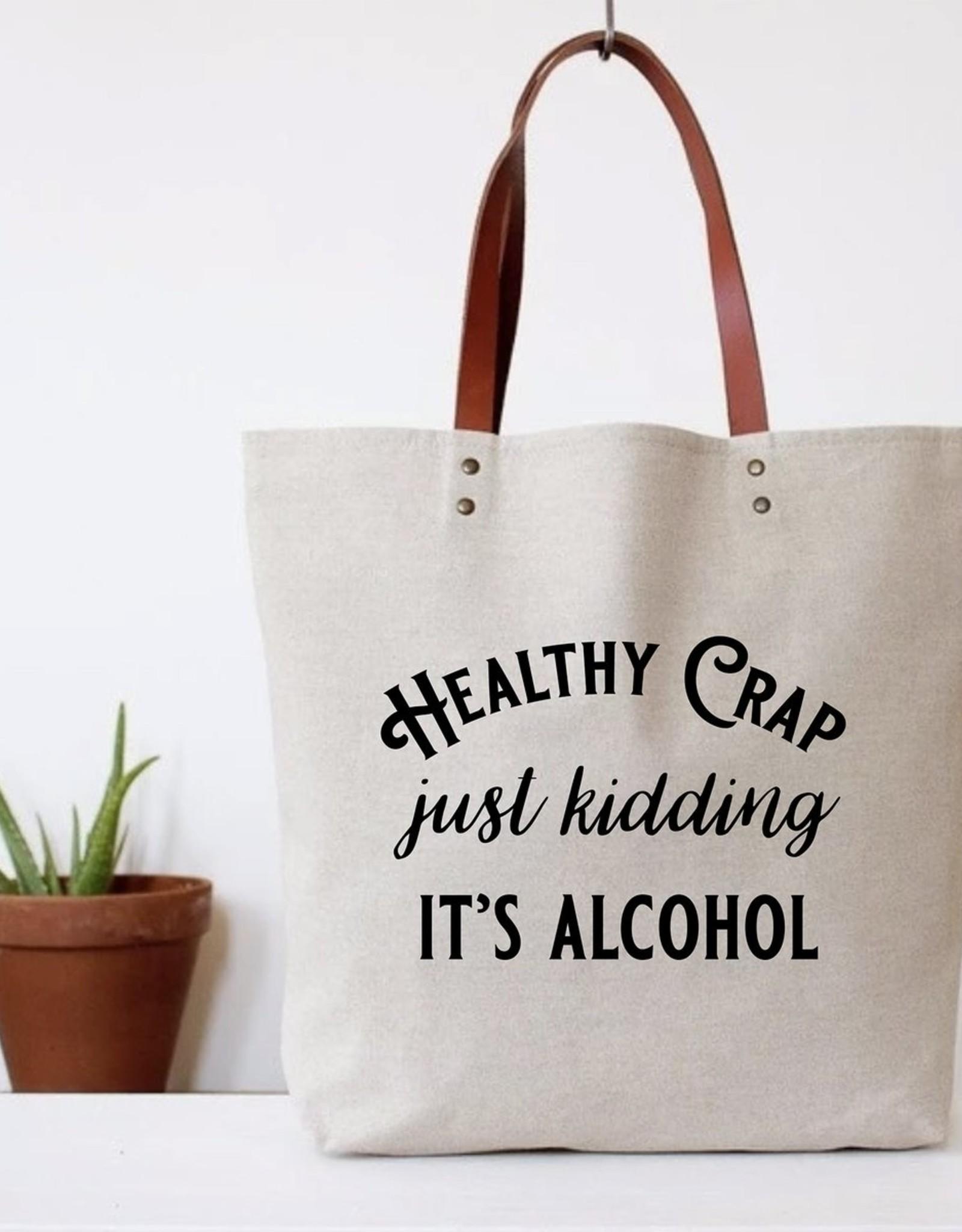 Bag - Healthy Crap Tote