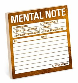 Sticky Note - Mental Note (Metallic)