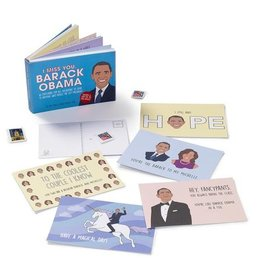 Postcard Book - I Miss You Barack Obama