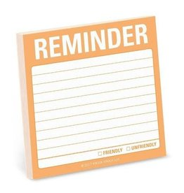Sticky Note - Reminder