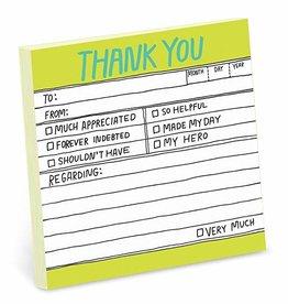 Sticky Note - Thank You