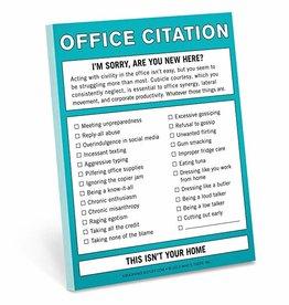 Notepad - Office Citation