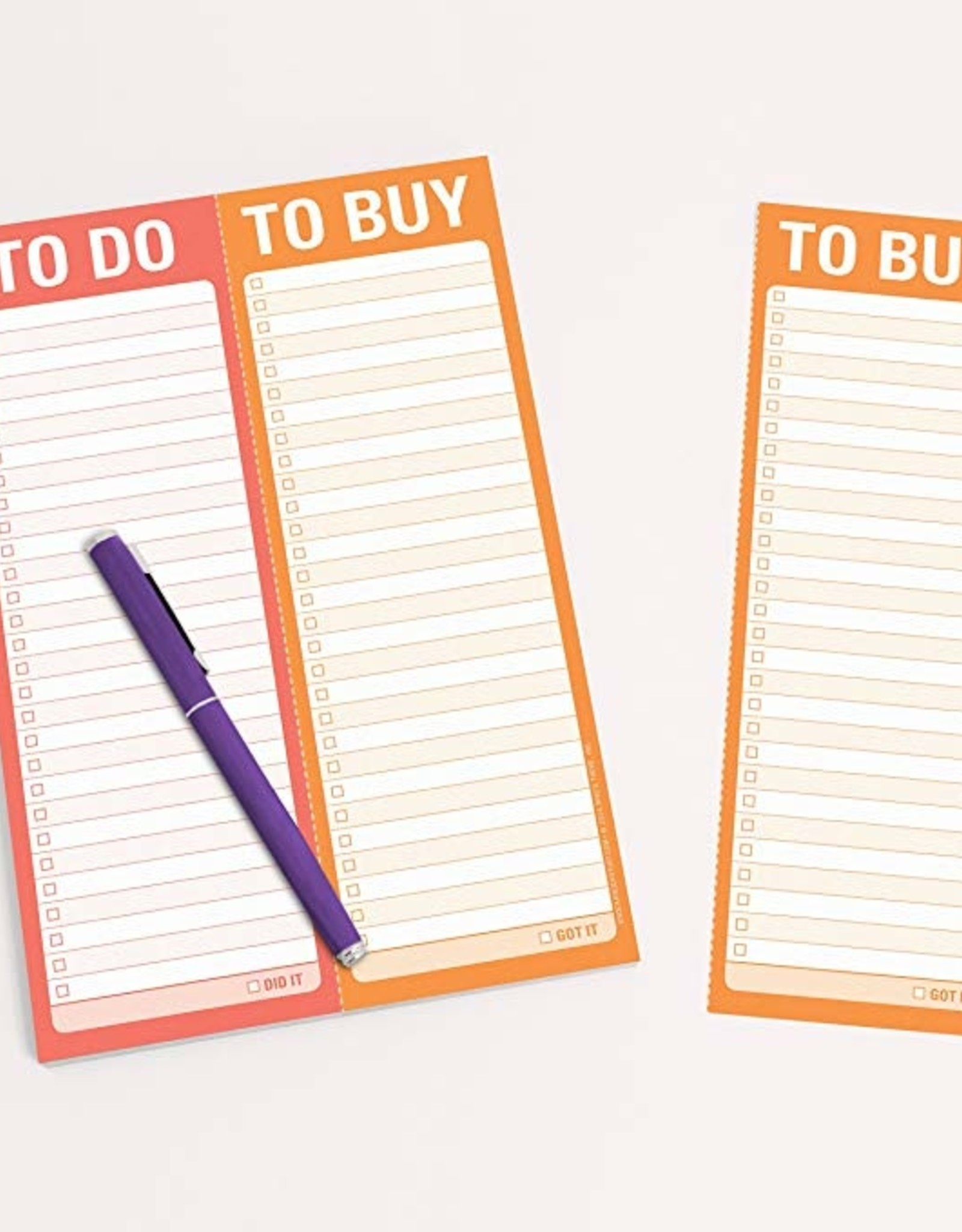 Notepad - To Do/ To Buy (Perforated)