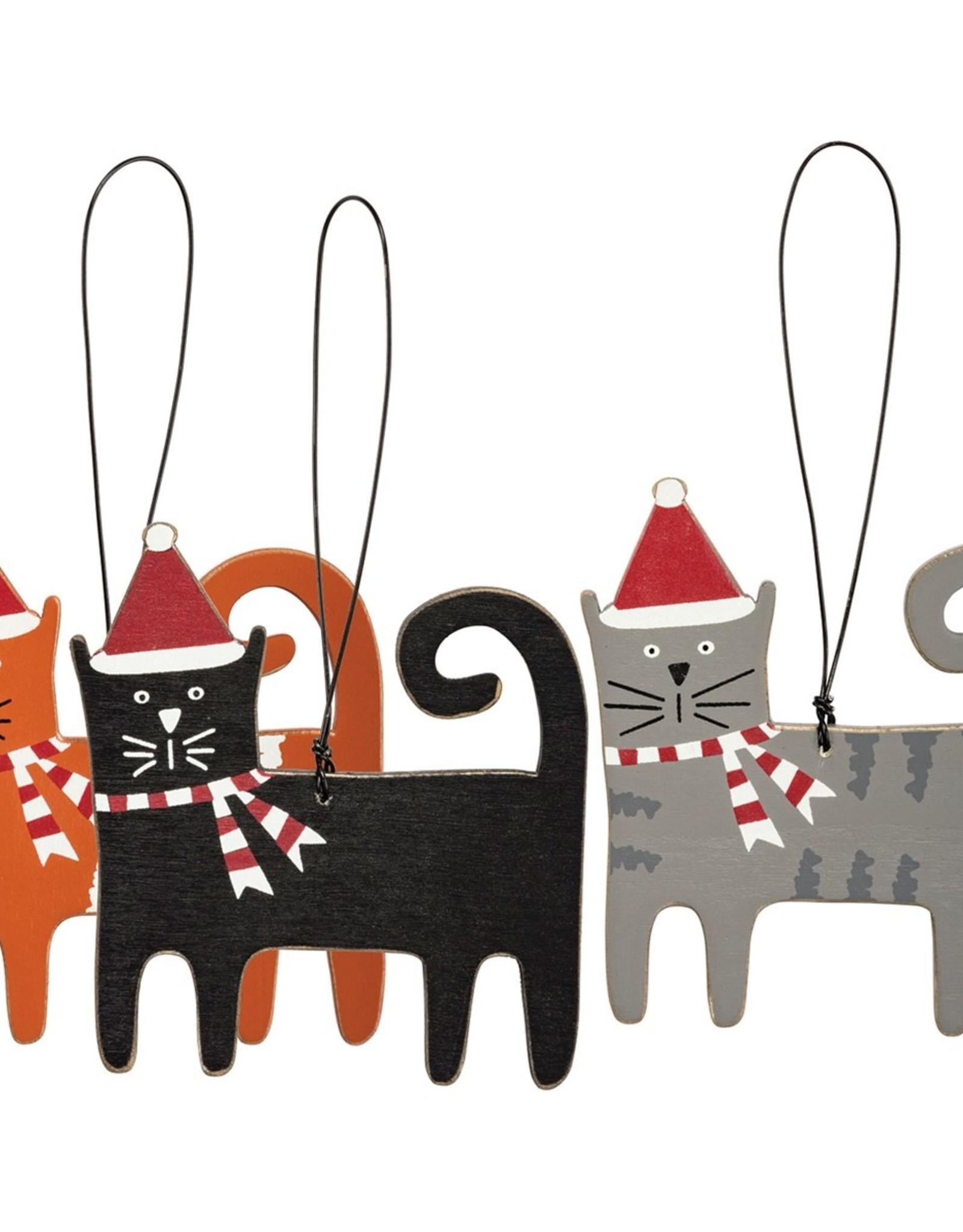 Ornament - Cat (Orange)