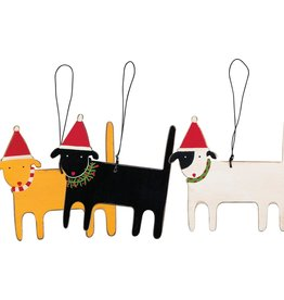 Ornament - Dog (Black)