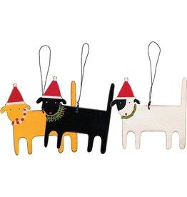 Ornament - Dog (Yellow)