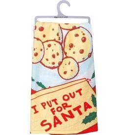 Tea Towel - I Put Out For Santa