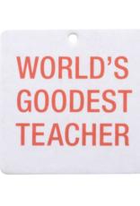 Air Freshener - Worlds Goodest Teacher (2pc)