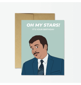 Card - Oh My Stars Its Your Birthday