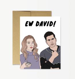 Card - Ew David
