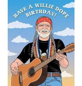 Card - Have A Willie Dope Birthday (Willie Nelson)