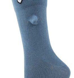 Womens Socks - 3D Blue Shark