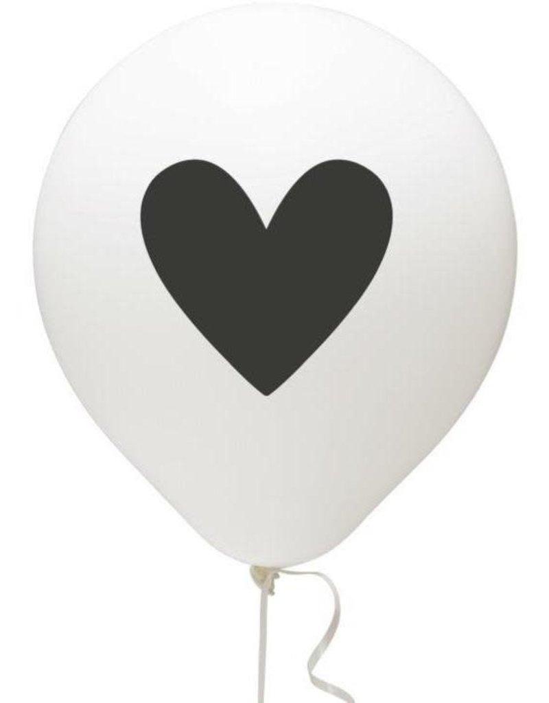 Balloons (3 Pack)- Black Heart