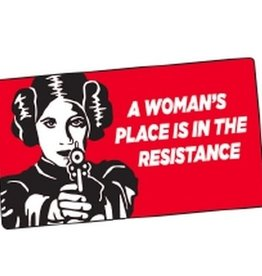 Sticker - A Woman's Place Is In The Resistance