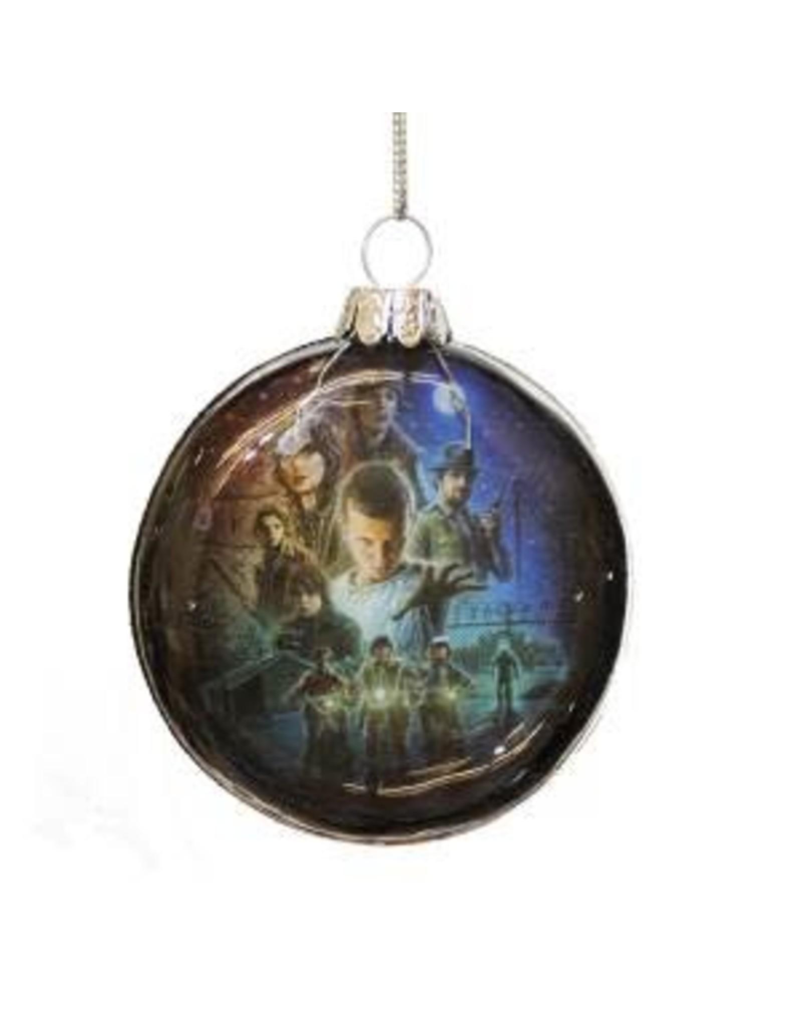 Ornament - Glass Disc (Stranger Things)