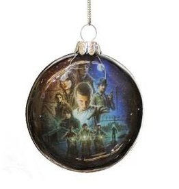 Ornament - Glass Disc (Stranger Things)