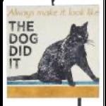 Ornament - Cat (The Dog Did It)