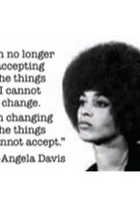 Magnet - I'm No Longer Accepting Things I Cannot Change. I'm Changing The Things I Cannot Accept. - Angela Davis
