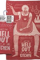 Tea Towel - Get The Hell Out Of My Kitchen