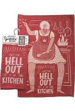Dish Towel - Get The Hell Out Of My Kitchen
