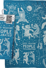 Tea Towel - Dogs Welcome People Tolerated