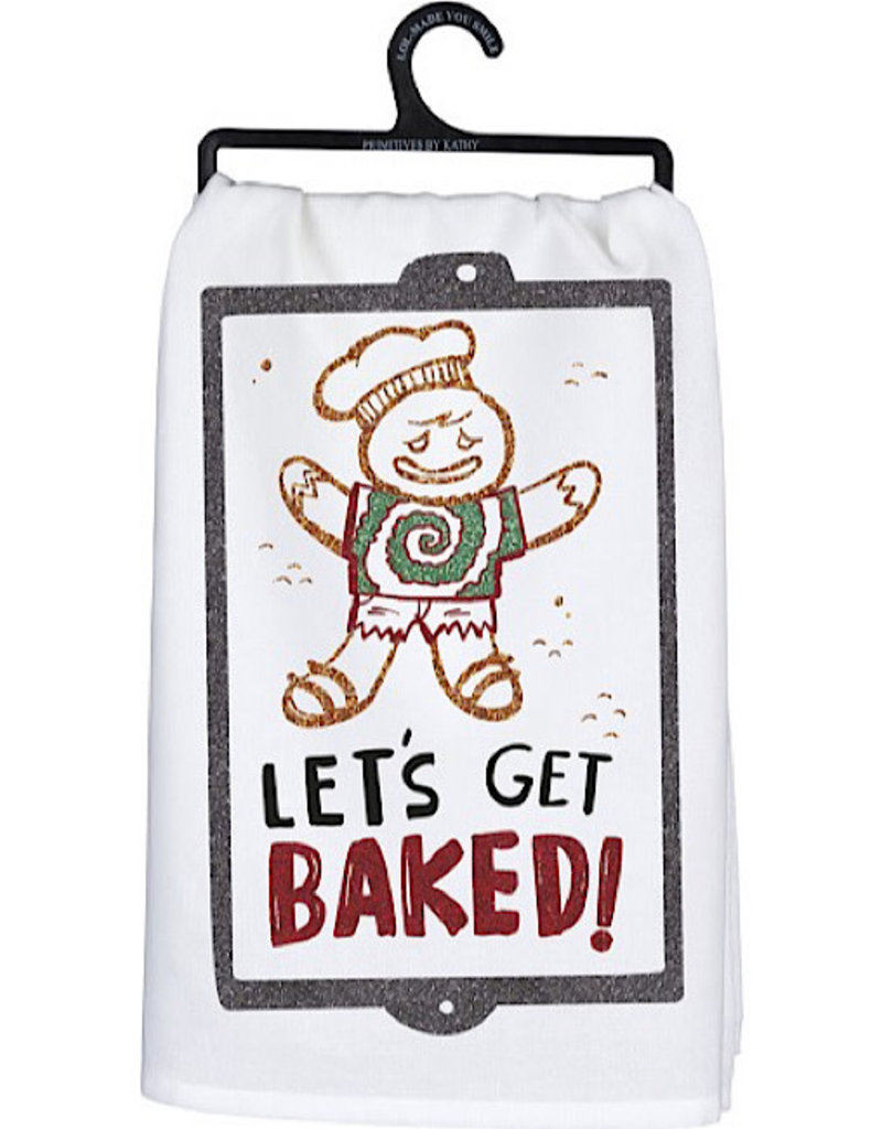 Tea Towel - Lets Get Baked