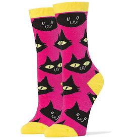 Womens Socks - Cats Meow