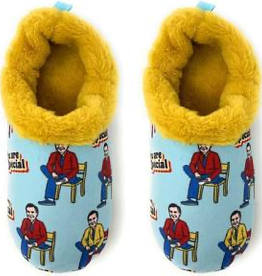 Oh Geez Slippers - You Are Special (Mr Rogers) (Medium)