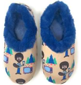 Oh Geez Slippers - (Bob Ross) (Large)