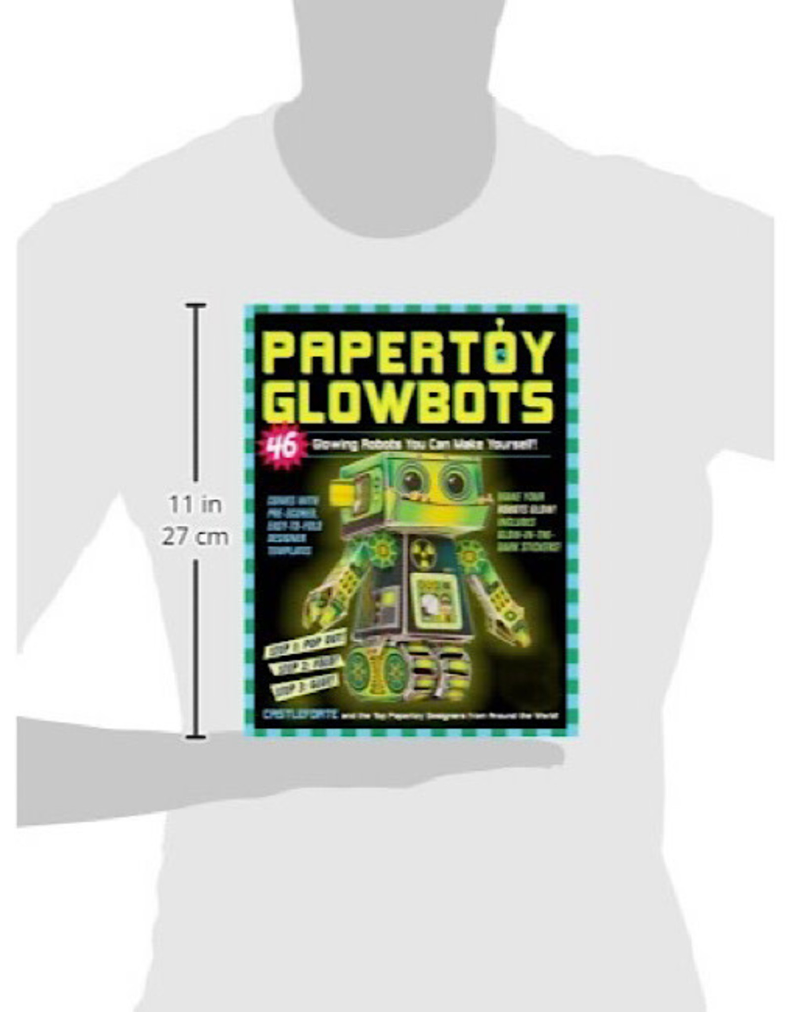 Book - Paper Toy Glow Bots