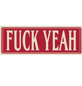 Sticker - Fuck Yeah
