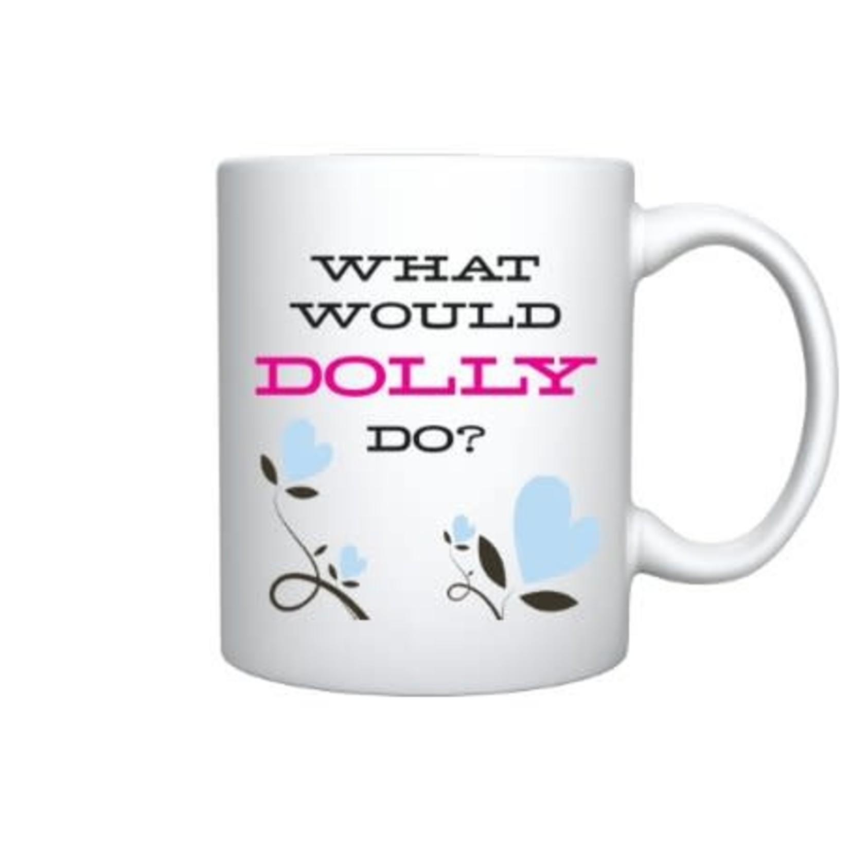 Bad Annie's Mug - What Would Dolly Do (Dolly Parton)