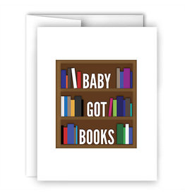 Card - Baby Got Books