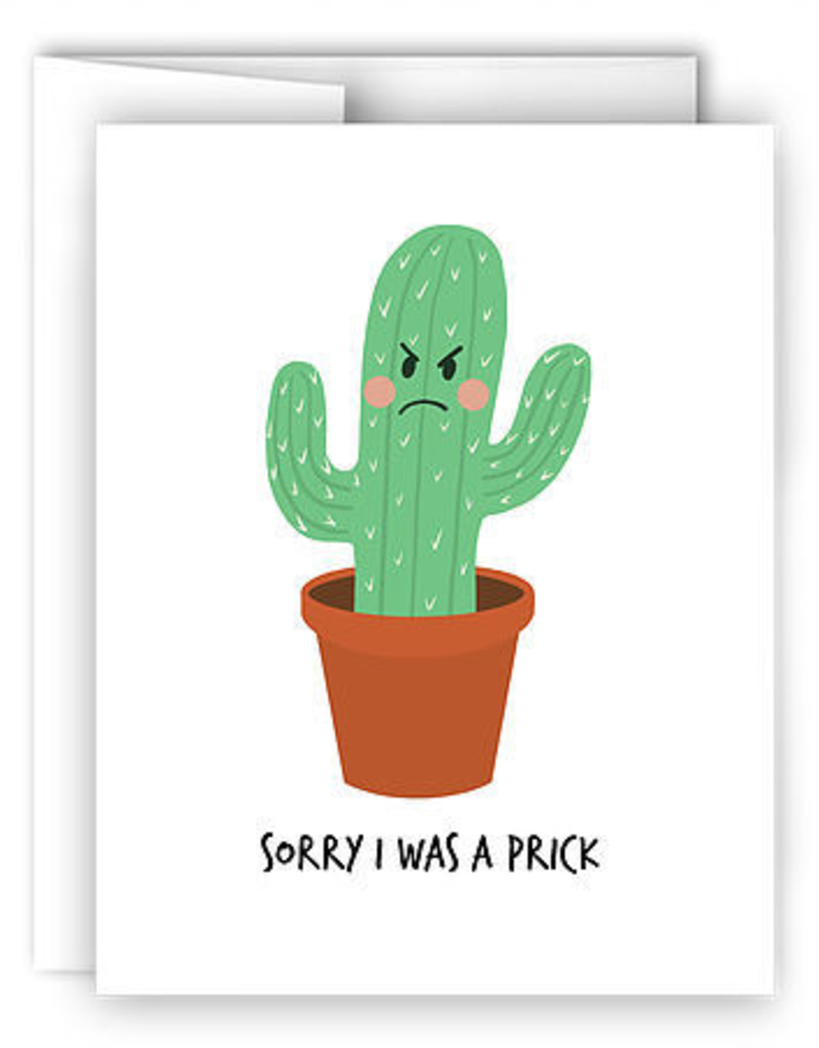 Card - I Was A Prick