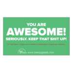 Bad Annie's Business Card (10 Pack) - You're Awesome