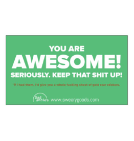 Business Card (10 Pack) - You're Awesome