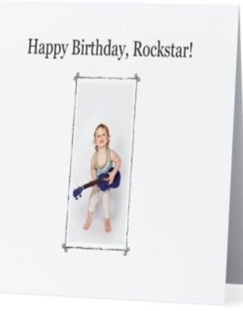 Annies Card #015 - Happy Birthday Rockstar