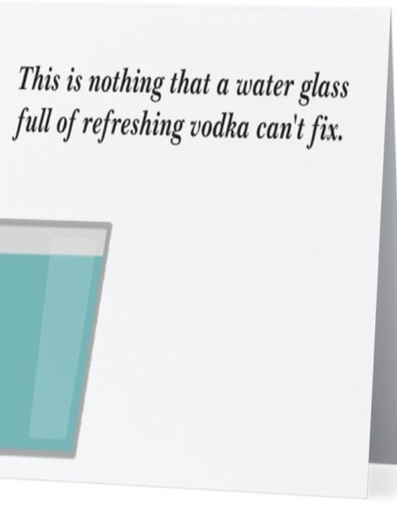 Card #049 - Glass Of Refreshing Vodka